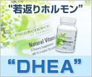 アンチエイジングに注目のDHEAサプリメント