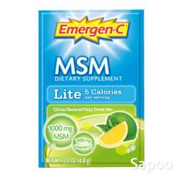 エマージェンC ライトMSM 4.8g×30パック